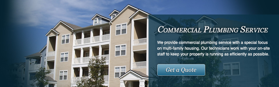 commercial plumbing services office buildings apartments multifamily emergency plumber