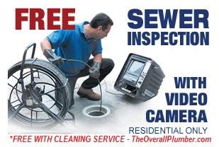 FREE Video Check Sewer Inspection with Drain Cleaning Service - Sewer Lines in Brazoria County