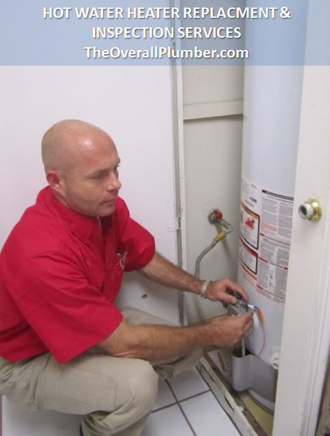 Plumbing Services in Brazoria County - Install Hot Water Heaters - Repair Hot Water Heaters