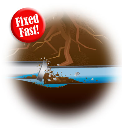 Repair Broken Sewer Line Brazoria County